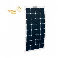TPS-FLEX-100W(M) TOPRAY SOLAR, 100Вт, ГИБКАЯ МОНОКРИСТАЛИЧЕСКАЯ СОЛНЕЧНАЯ ПАНЕЛЬ